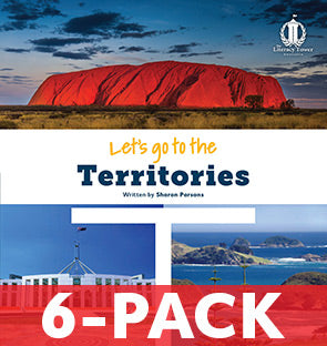 Let's Go to the Territories (6-PACK) Australian States Series