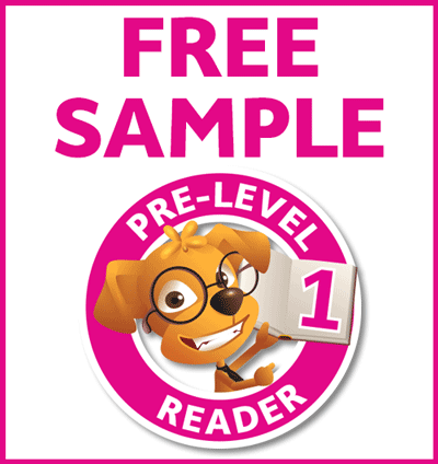 NEW FREE SAMPLE Pre-Level 1 Reader