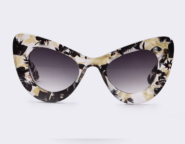 Palm Floral Sunglasses