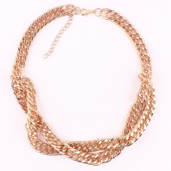 Trina Gold Necklace