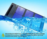 Wildtek SOURCE 21W Waterproof Portable Solar Charger Panel with Dual USB Ports