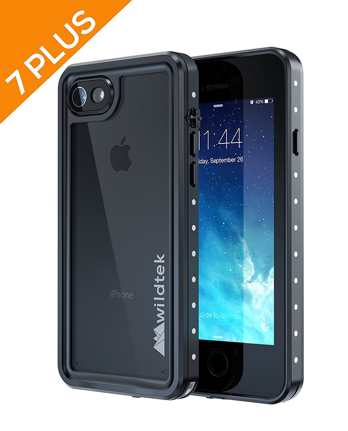 Wildtek REPEL Waterproof iPhone 7 Plus / 8 Plus + Case (Black - 5.5)