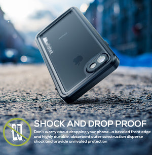 Wildtek REPEL Waterproof iPhone 7 / 8 Case (Black - 4.7)