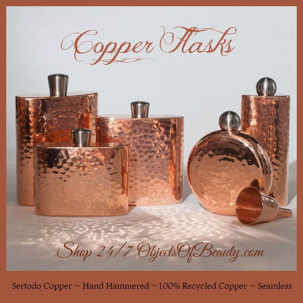 The Story of Sertodo Copper's Espadin Copper Flasks