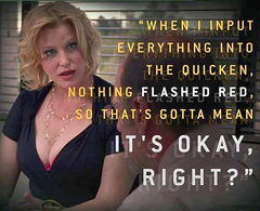 """Skyler White """"It's Ok Right"""" One of the funniest scenes played by Anna Gunn in Breaking Bad"""