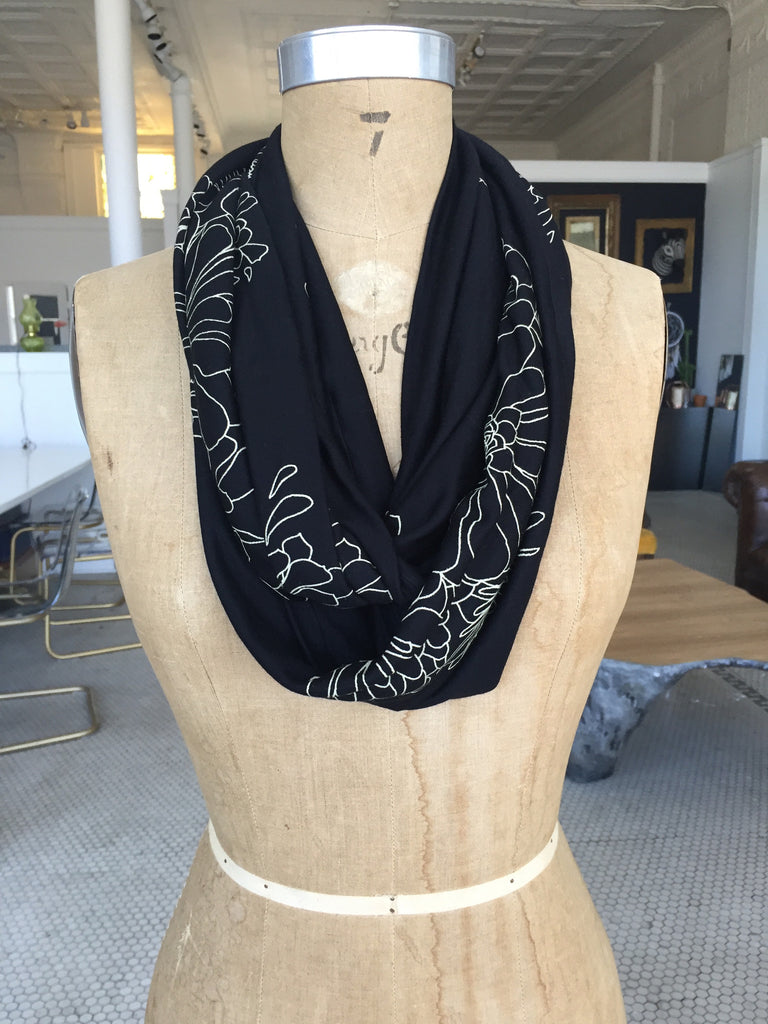 Succulent Zero-Waste Scarf from Tonle´
