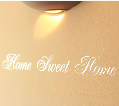 Mirror Silver Home Sweet Home