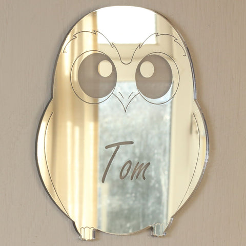 Personalised Wise Owl Plaque