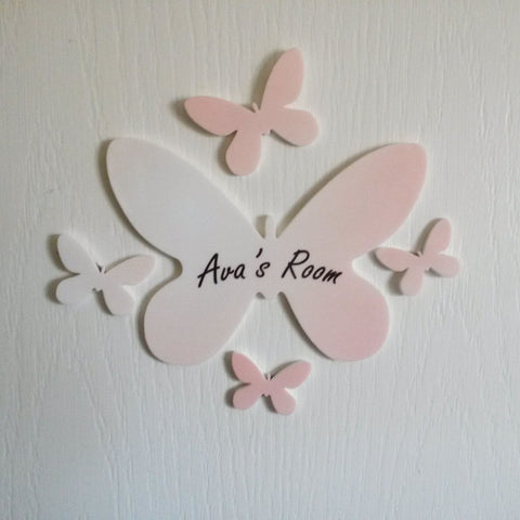 Personalised Colour Butterfly Set