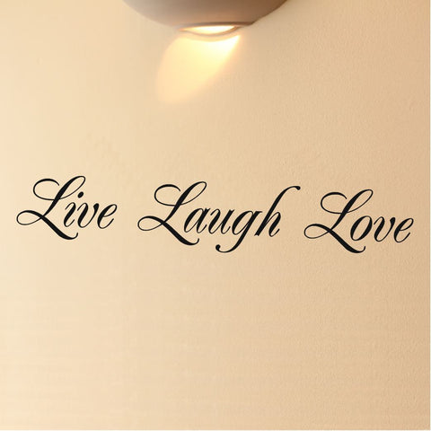 Black Live Laugh Love