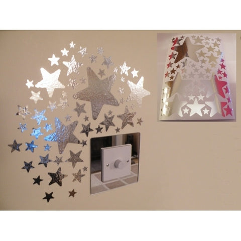 Mirror Star Wall Stickers