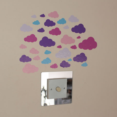 34 Clouds Pink Purple Lilac