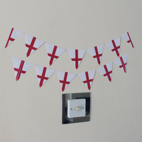 12 England Bunting Stickers