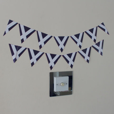 12 Scotland Bunting Stickers