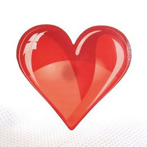 Red Heart Acrylic wall plaque decoration