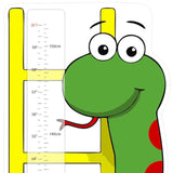 Snakes and Ladders Ruler Height Chart Wall Sticker
