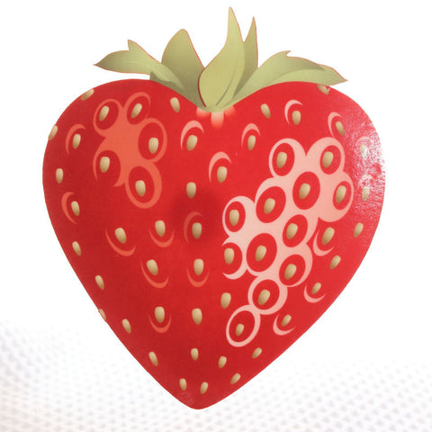 Strawberry Acrylic wall plaque decoration