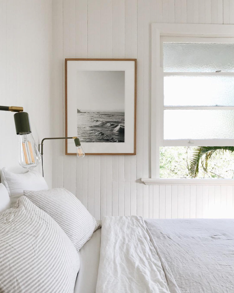 Calm & White in the Bedroom