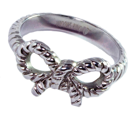 FORGET-ME-KNOT Memorial Ring