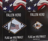 FALLEN HERO Lapel Pin