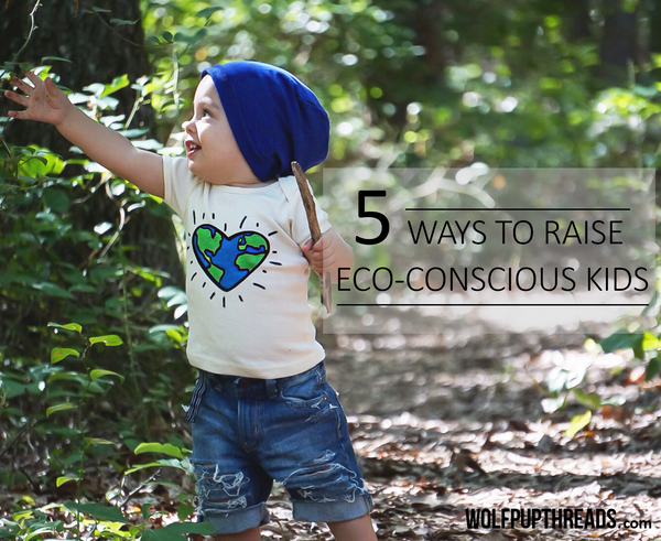Wolf Pup Threads organic cotton toddler clothes eco-friendly kids