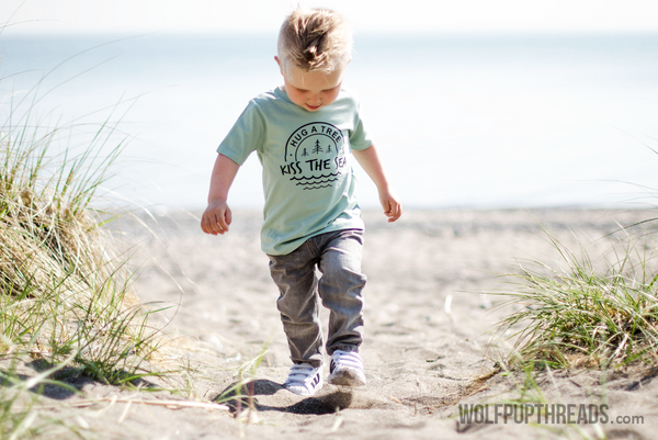 Wolf Pup Threads organic cotton toddler clothes
