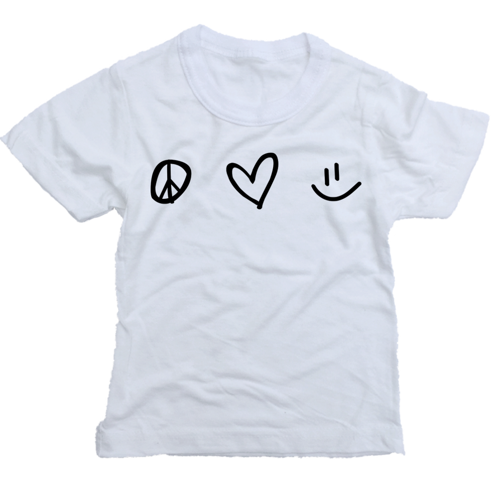 Peace Love Happy T-Shirt