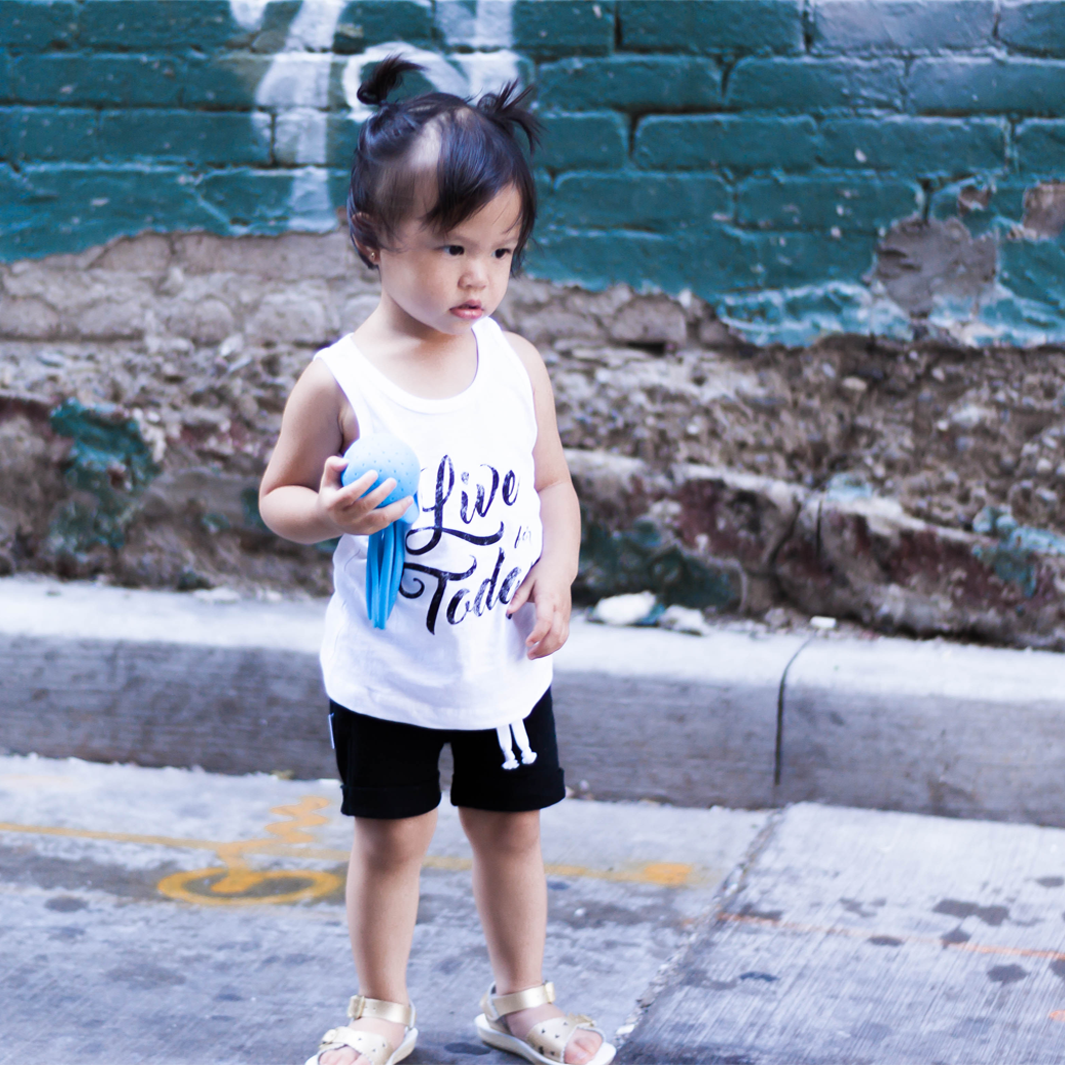 Live For Today Tank Top - Organic Clothing By Wolf Pup Threads - 3