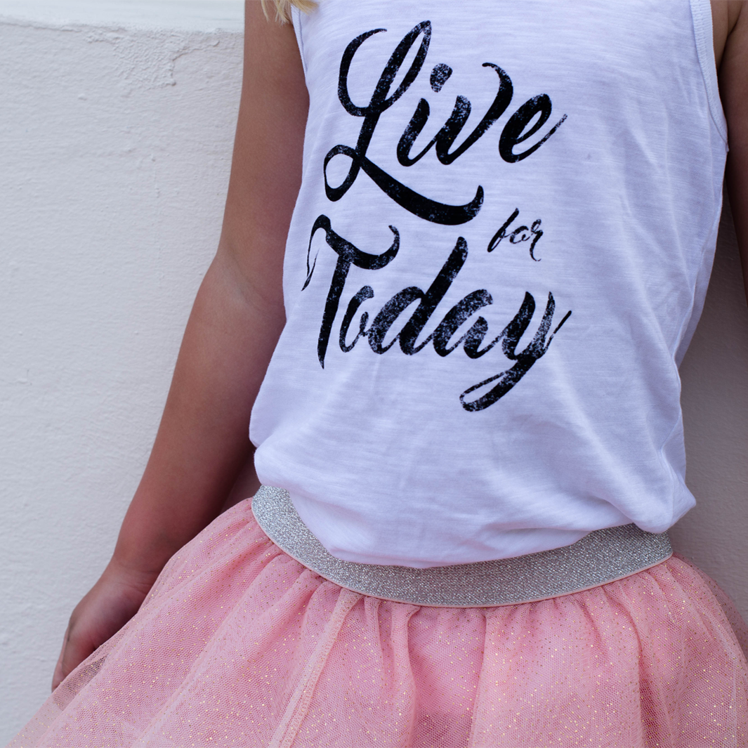 Live For Today Tank Top