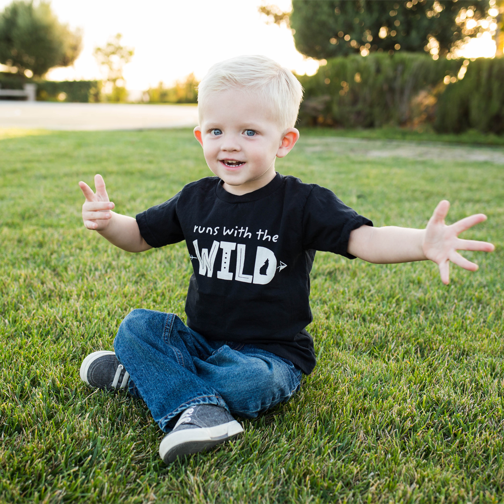 Runs With The Wild T-Shirt - Organic Clothing By Wolf Pup Threads - 6