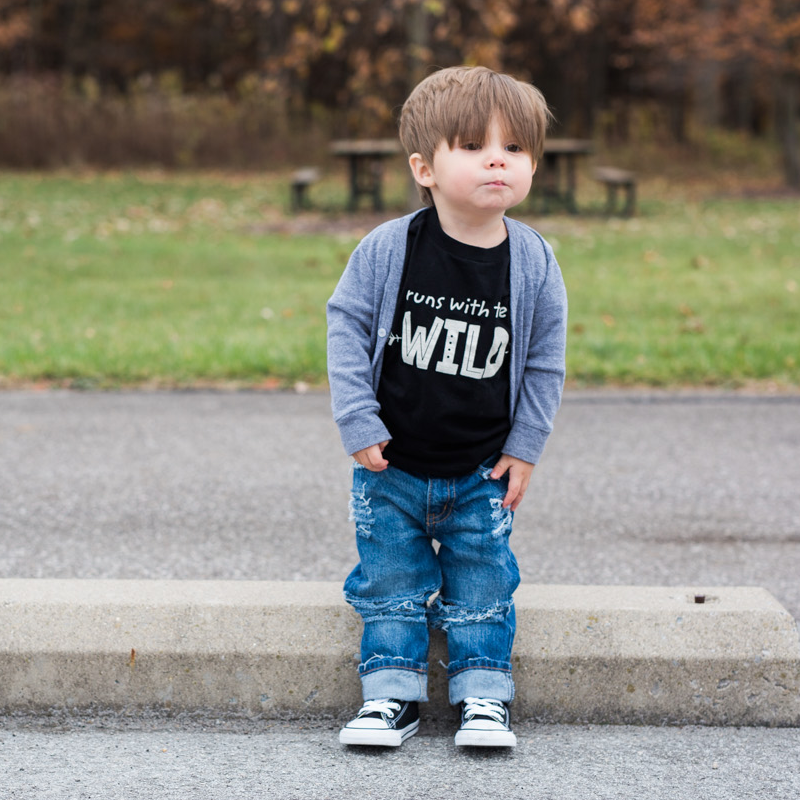 Runs With The Wild T-Shirt - Organic Clothing By Wolf Pup Threads - 4