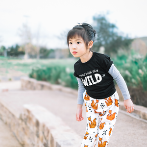 Runs With The Wild T-Shirt - Organic Clothing By Wolf Pup Threads - 3