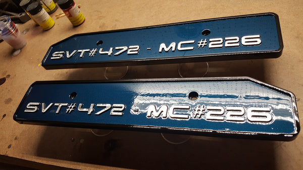 Mustang 4v Custom Text Coil Covers