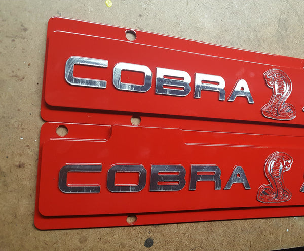 Mustang 96-98 Cobra Plug Wire Covers, Coil Covers - Infinite Machine Concepts