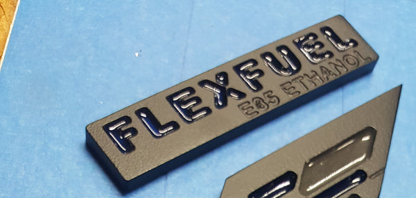 Flex fuel badge,  - Infinite Machine Concepts