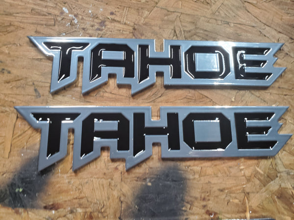 Tahoe badges (pair),  - Infinite Machine Concepts