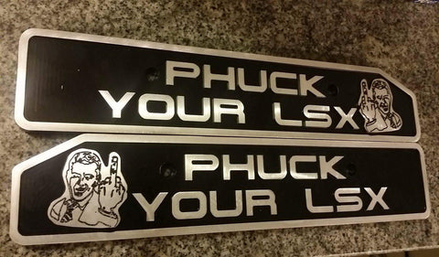 """Phuck U LSX"" Mustang Custom Coil Covers, Coil Covers - Infinite Machine Concepts"