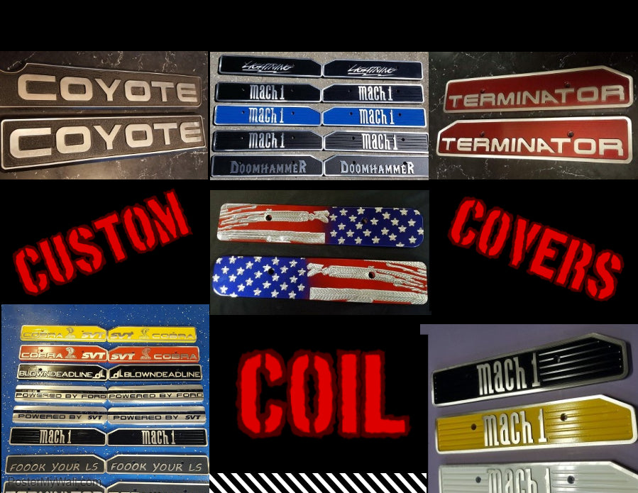 Most UNIQUE Coil Covers on the Market