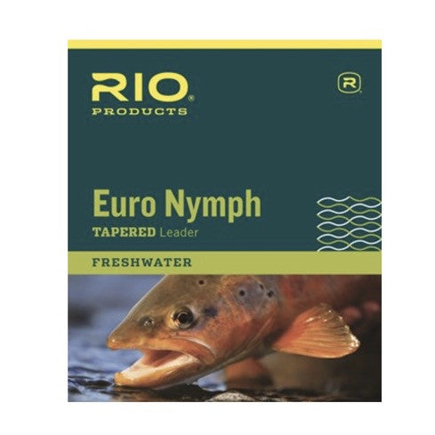RIO Euro Nymph Leader - Fly Fishing Specialties