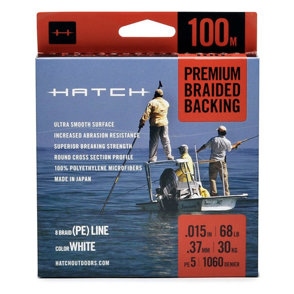 Hatch Premium Braided Backing - Fly Fishing Specialties