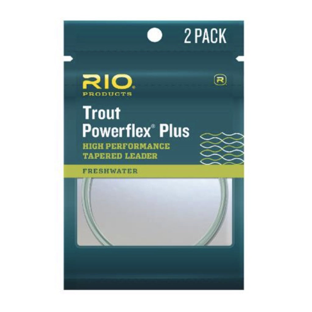 RIO Powerflex Plus Leader - 2 Pack - Fly Fishing Specialties