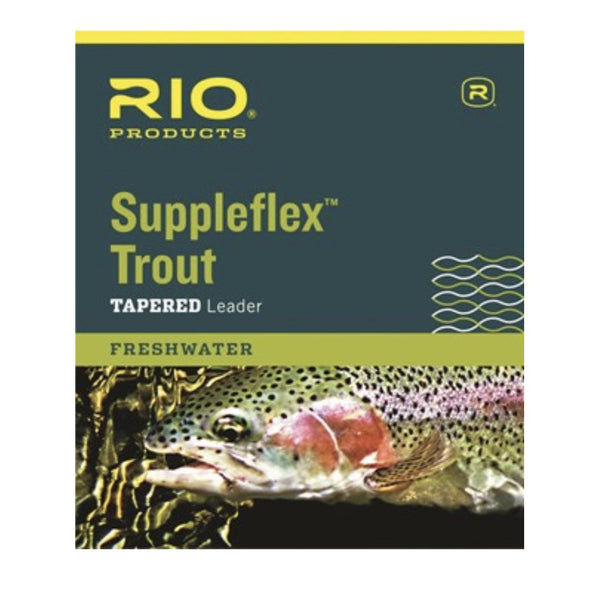 RIO Suppleflex Trout Leader - Fly Fishing Specialties