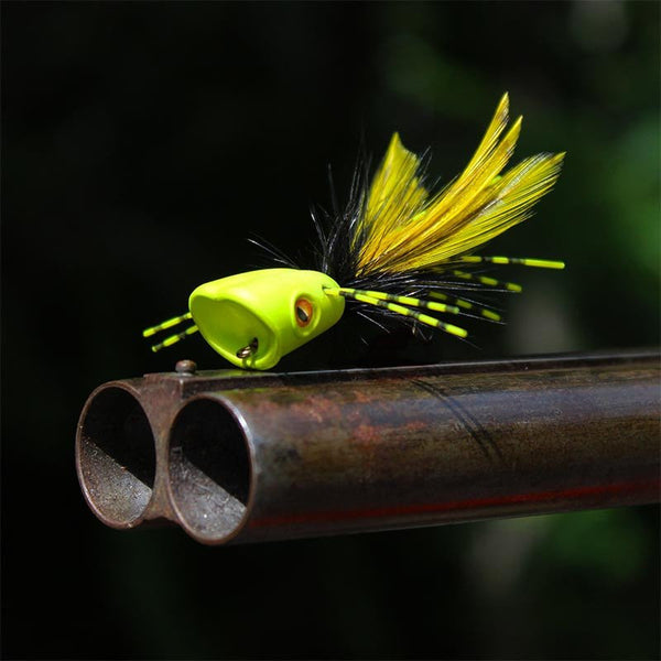 Surface Seducer Double Barrel Popper & Slider Body - Fly Fishing Specialties - 1
