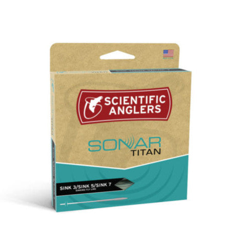 Scientific Anglers Sonar Titan S3/S5/S7 Sinking Fly Line - Fly Fishing Specialties