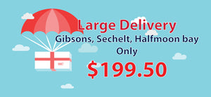 Large Delivery to Gibsons, Sechelt & Halfmoon Bay