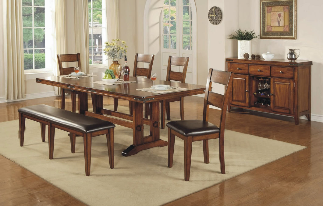 Mango 6 Piece Dining Set FREE Shipping - 24SEVENS