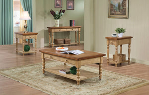 "Quaint Retreat 20"" End Table  FREE Shipping - 24SEVENS"