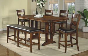 Mango 6 Piece Tall Dining Set FREE Shipping - 24SEVENS