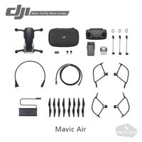dji mavic air standard package