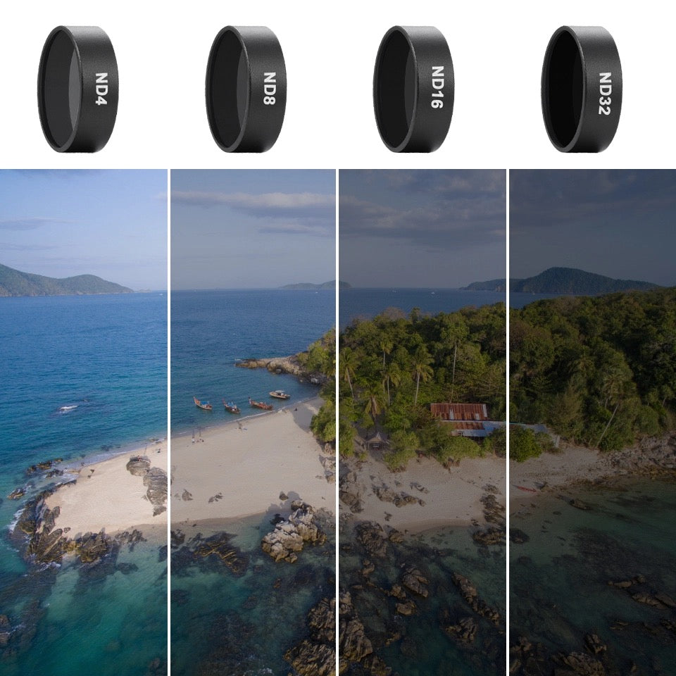 dji mavic air nd filter examples